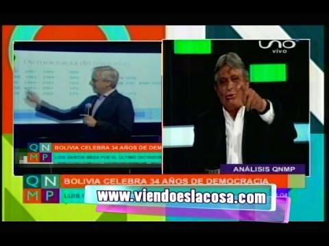 JAIME PAZ ZAMORA REFLEXIONA A GARCÍA LINERA POR SU IRRESPONSABILIDAD INTELECTUAL