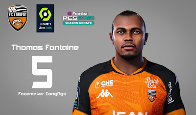 PES 2021 Faces Thomas Fontaine by CongNgo