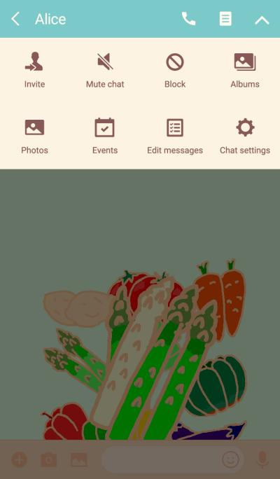 Theme Vegetable Series Asparagus