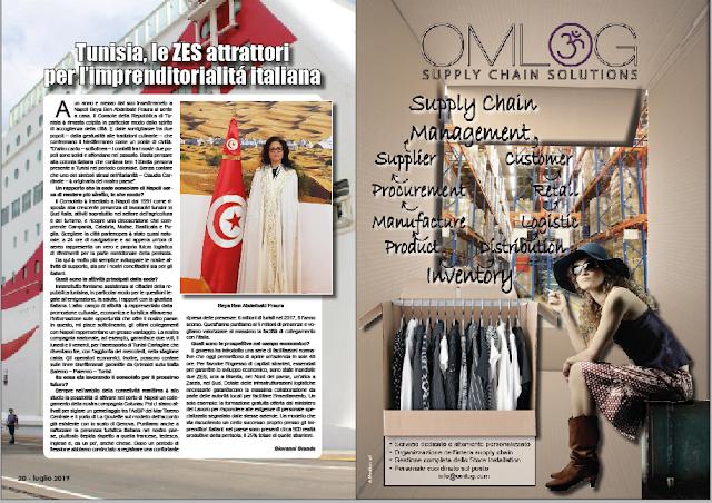 LUGLIO 2019 PAG. 20 - Tunisia, le ZES attrattori per l'imprenditorialitá italiana