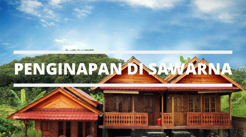 Penginapan di Sawarna