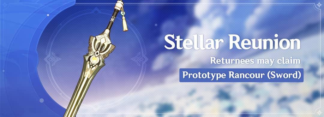 "THE ""STELLAR REUNION"" RETURN EVENT"
