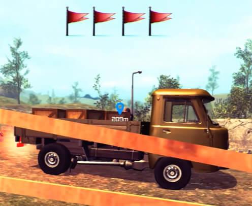 Uaz 4x4 Off Road Racing