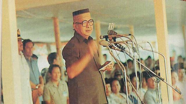 Presiden Soeharto Menolak Gelar Honoris Causa dari UI