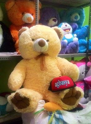 Boneka Beruang Teddy Bear Jumbo KREM