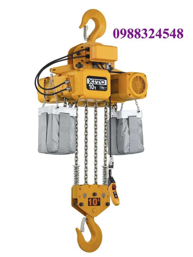 palang điện xích Kito ER2-100S 10 tấn