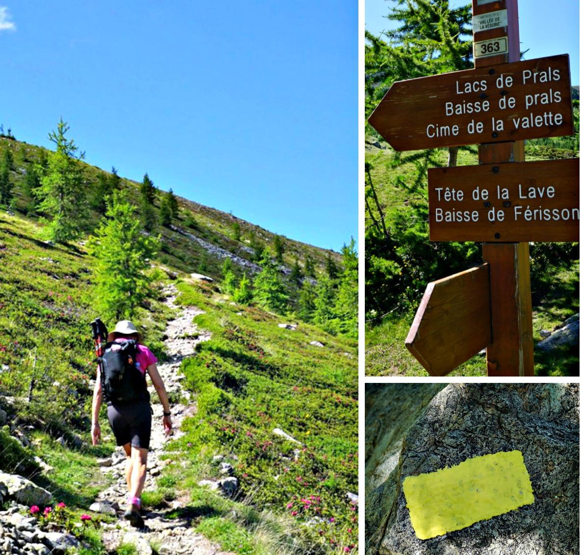 Path to Tête de la Lave