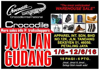 Crocodile Warehouse Sales 2016