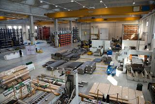 Nuovo magazzino della Böhler Uddeholm Italia all'Interporto Padova Spa