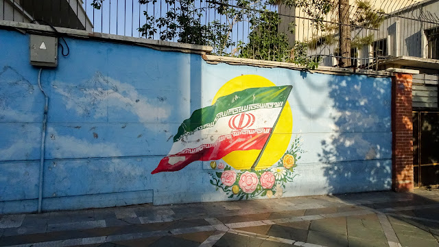 The grafiti in Valiasr Street