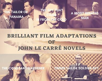 Os 5 Melhores Filmes Baseados em Livros de John le Carré