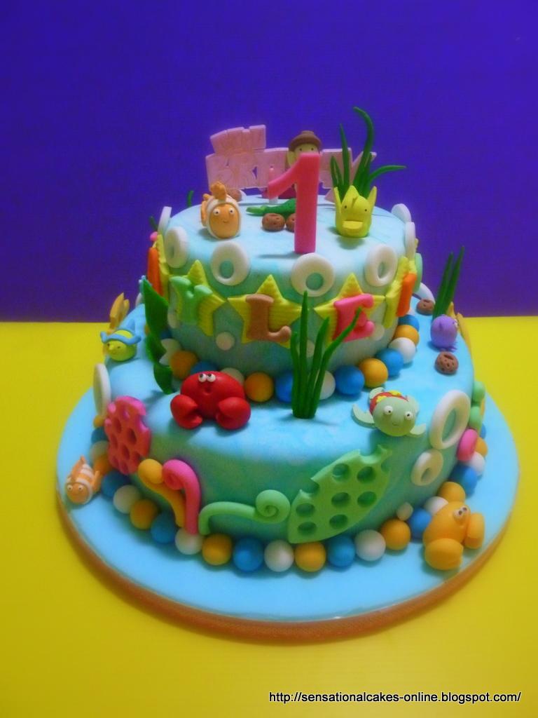 cakes2share singapore 3d under water theme cake singapore