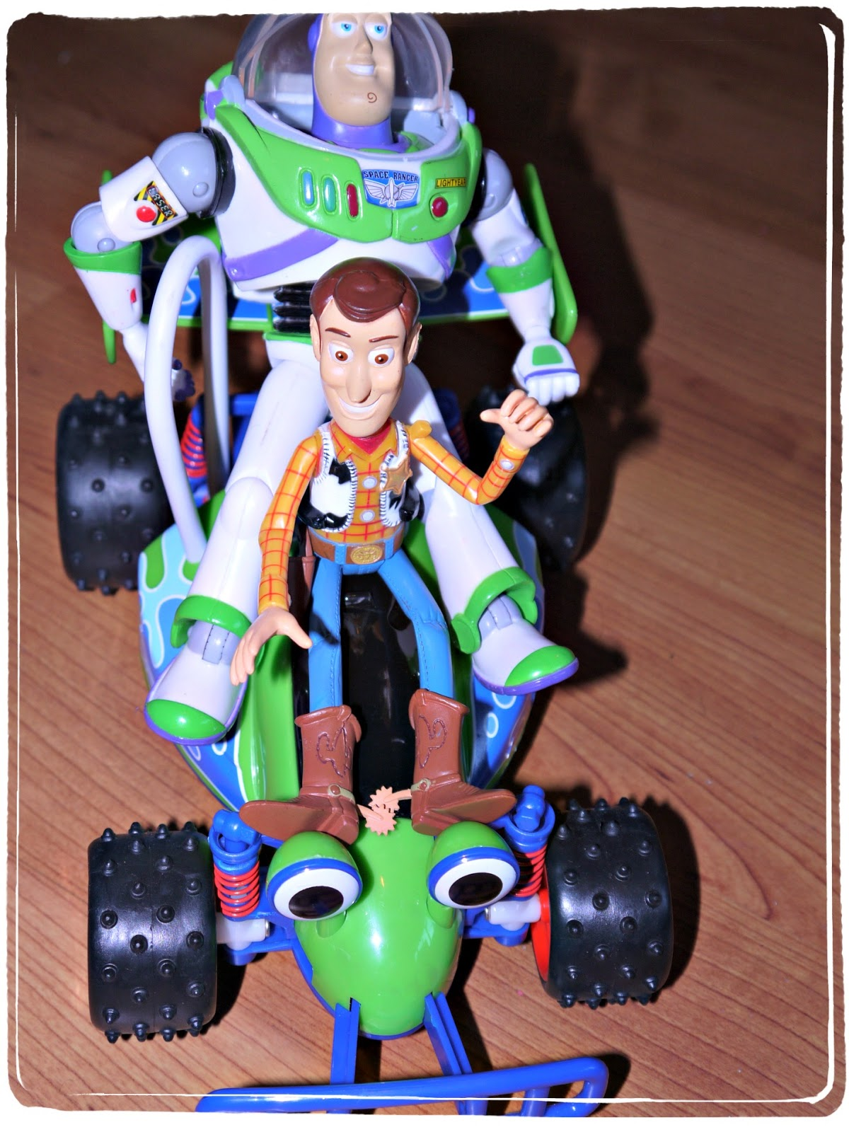 Toy Story Cracked Magazine: Inside The Wendy House: Toy Story Remote Control RC Review