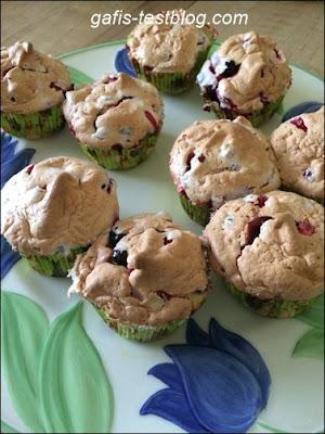 Johannisbeer Baiser Muffins