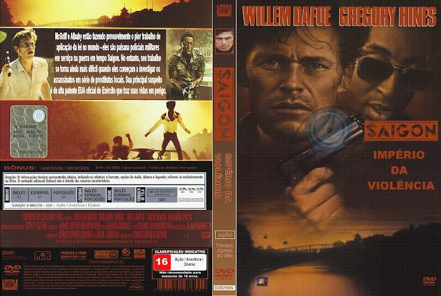Capa DVD Saigon Império Da Violência