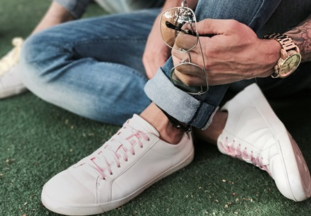 ideas de como usar zapatos blancos
