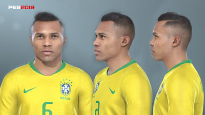 PES 2019 Faces Alex Sandro by Prince Hamiz