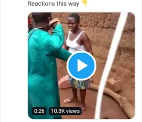 A young Lady Returns beating to her father who got angry at her for keeping late night.