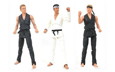 San Diego Comic-Con 2021 Exclusive Cobra Kai Deluxe Action Figure Box Set by Diamond Select Toys