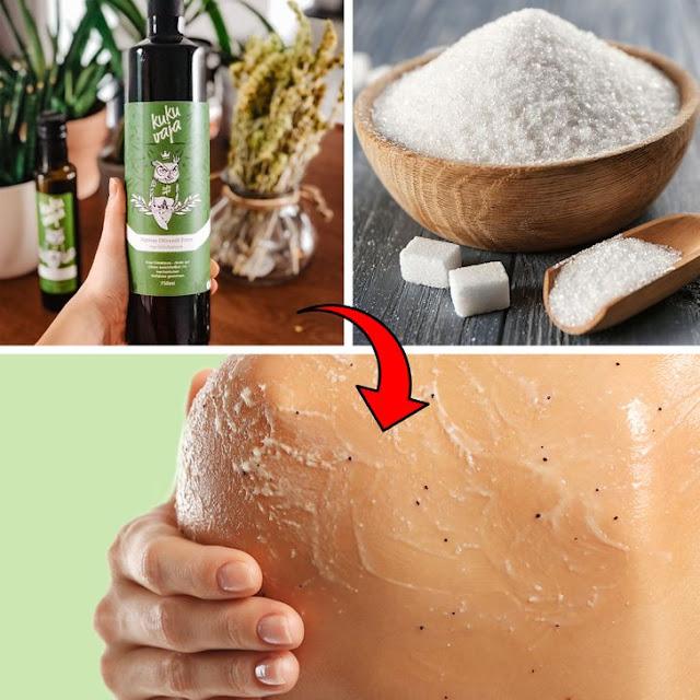 Piling za tijelo sa maslinovim uljem