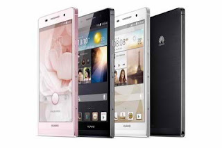 Huawei Ascend P6 available colors