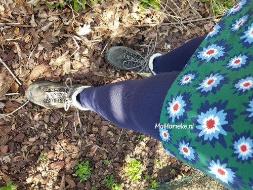 Bijpassende legging bij de jurk