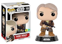 Pop! Star Wars: The Force Awakens - Han Solo with Chewie Bowcaster.