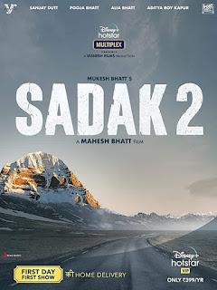 Sadak 2 First Look Poster 1