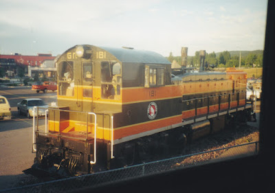 Great Northern NW3 #181 in Whitefish, Montana, on July 24, 1999