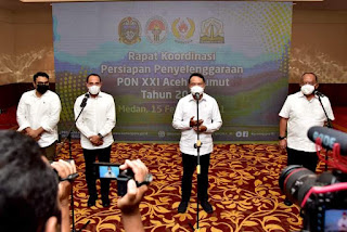 Menpora RI Apresiasi Keseriusan Sumut dan Aceh Persiapkan PON 2024