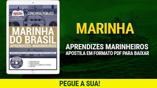 Apostila Marinha 2019: Aprendizes Marinheiros