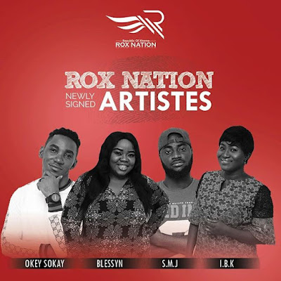 Tim Godfrey, SMJ, Okey Sokay, Blessyn, Rox Nation