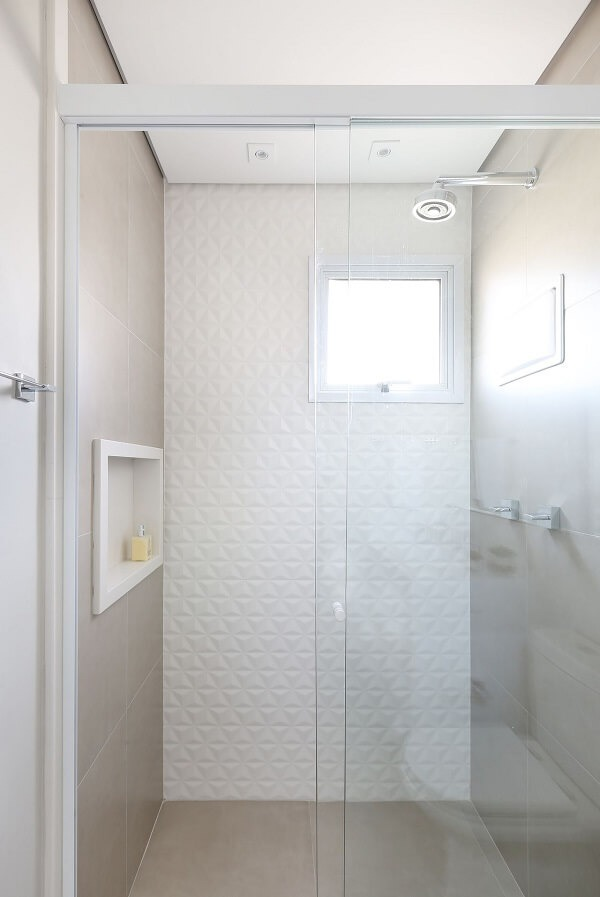 3D bathroom tile will be installed