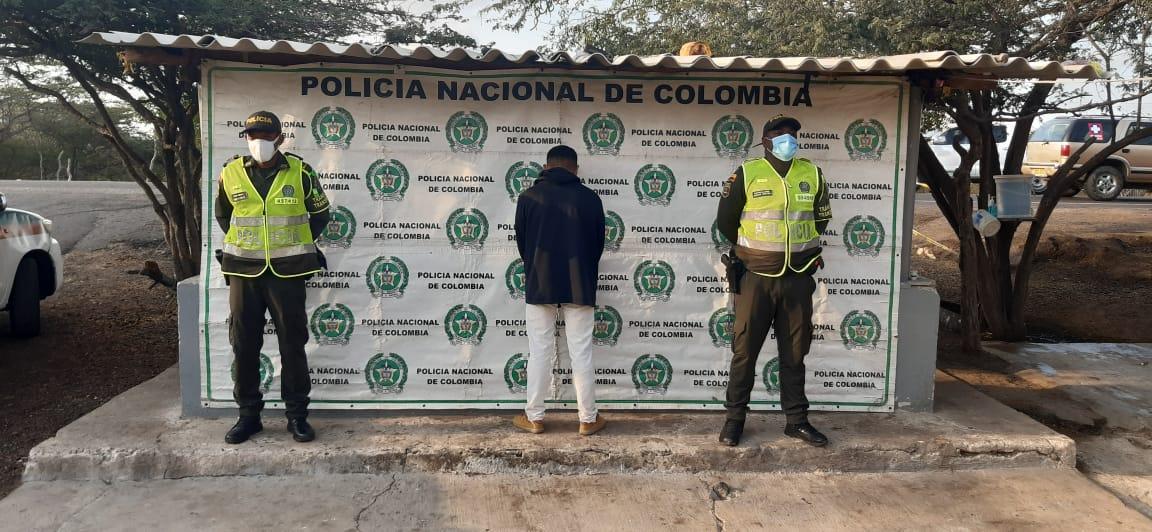 hoyennoticia.com, Cinco capturados en carreteras guajiras