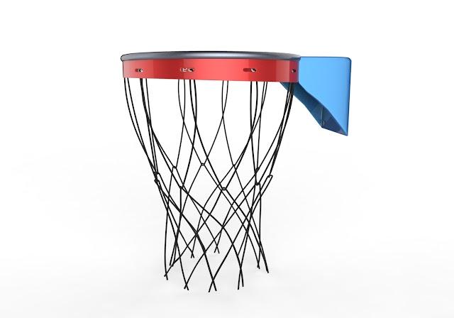 Basketball Rim 3D Model Free Download Obj,Maya,Low Poly