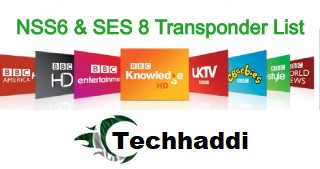 NSS6 and SES8 Updated Transponder List 2020 | Techhaddi