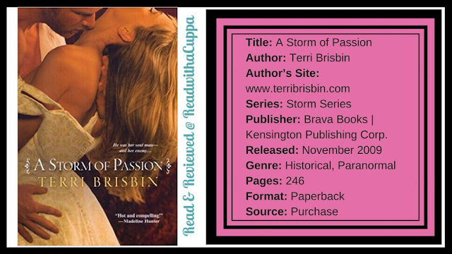 The path of vengence may not be the only path. Book Review | A Storm of Passions by Terri Brisbin. @readwithacuppa