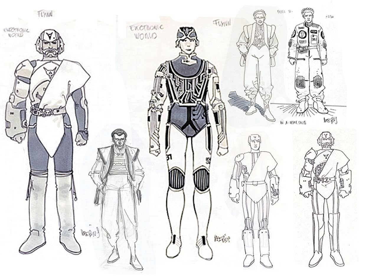 The Dork Review Rob S Room Tron Concept Art By Moebius