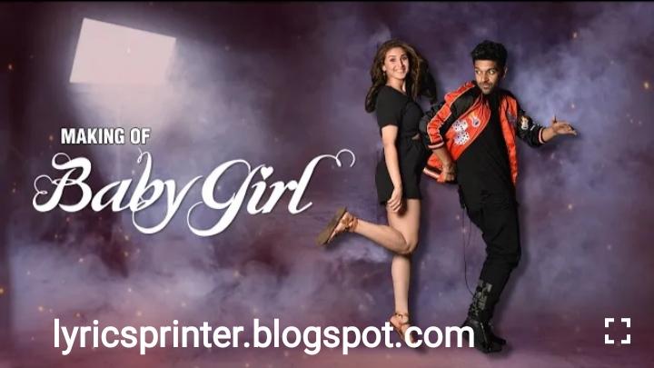 Baby girl lyrics - guru randhava 2020