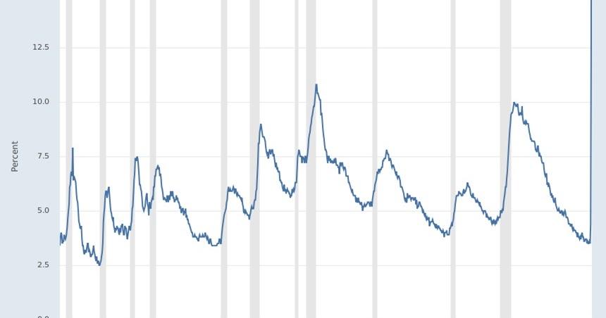 ECONOMISTA CONVERSÍVEL: Explosão nas taxas de desemprego nos EUA: uma espiada no interior