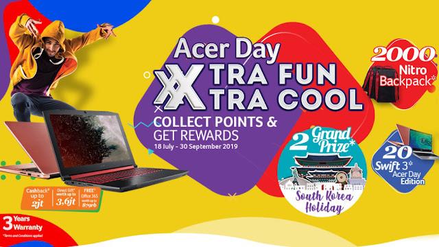 Acer Day Hadir Kembali Dengan Konsep Baru