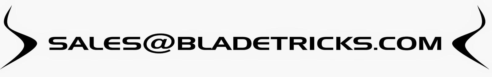 Contact Bladetriks via e-mail for custom knives karambits tomahawks and tools