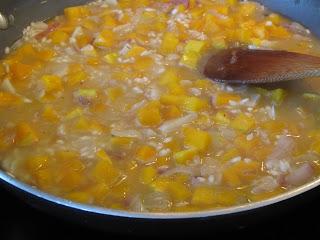 Butternut Squash, Garlic & Shallot Risotto