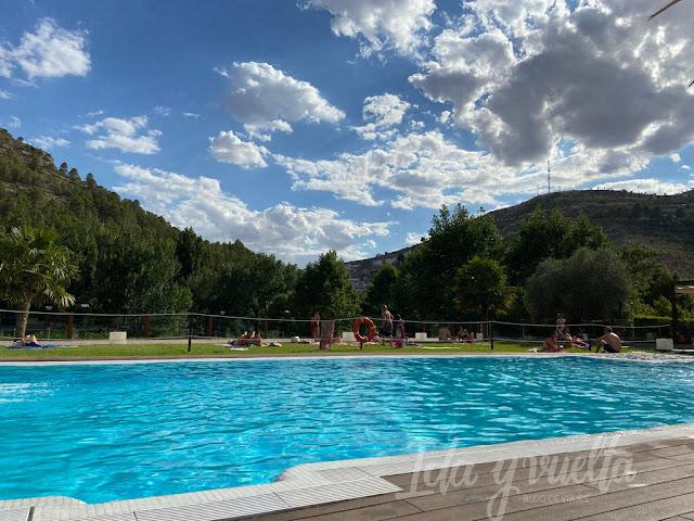 Visitar Alcalá del Júcar piscina
