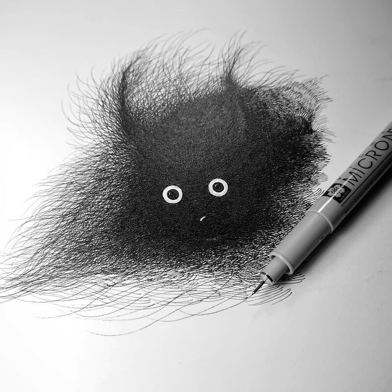 07-Luis-Coelho-Ink-Animal-Drawings-Cats-and-More-www-designstack-co