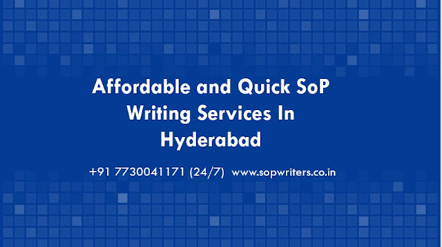 Sop writing services in hyderabad