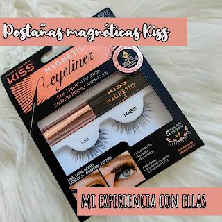 PESTAÑAS POSTIZAS MAGNÉTICAS CON EYELINER