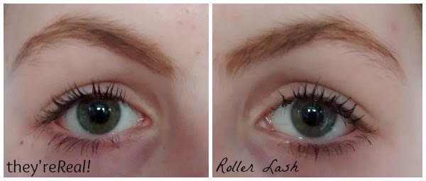 Roller Lash vs They're Real