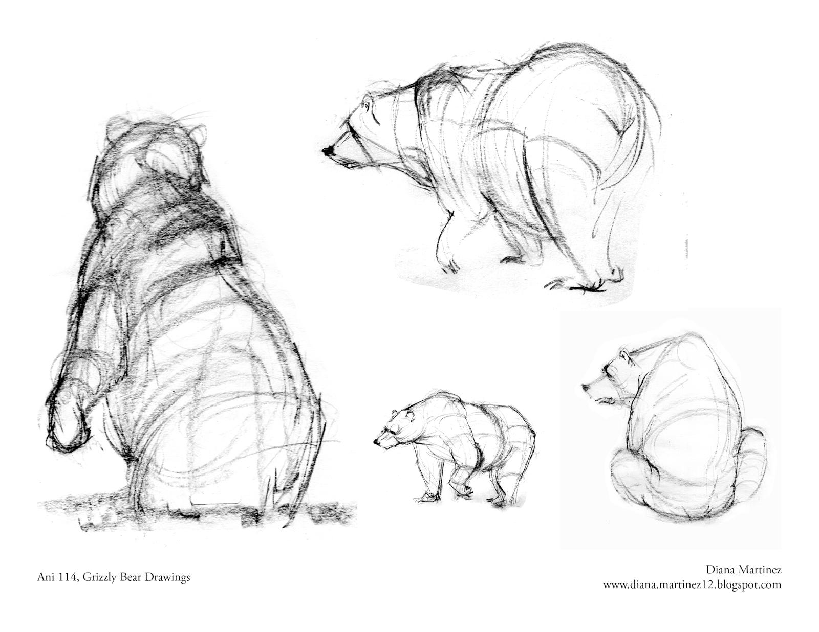 Diana S Sketch Blog More Grizzlies