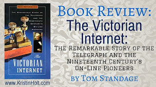 Kristin Holt | Book Review: The Victorian Internet
